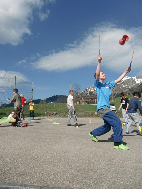 Ferienworkshop in Berlin, Projektwoche Schule Berlin Zirkus Programm